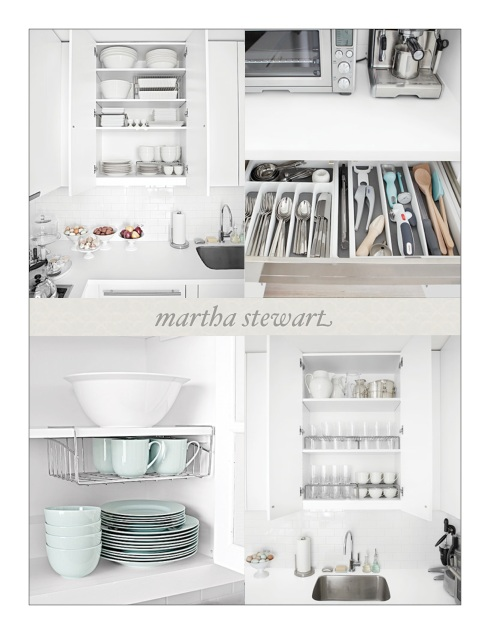 Martha Stewart Kitchen Organization