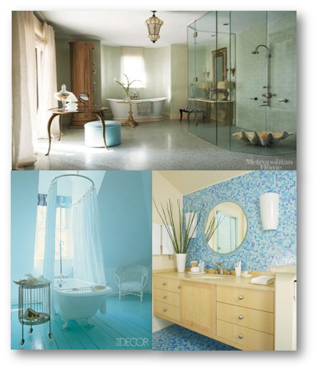 Practical ways to create a beach bathroom for Coastal bathroom design